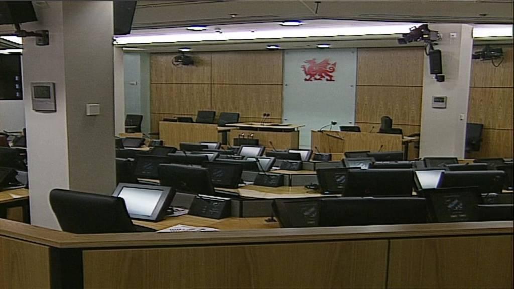 Ty Hywel Debating Chamber