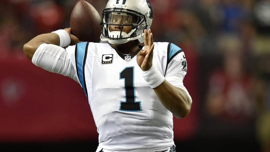 Cam Newton of Carolina Panthers