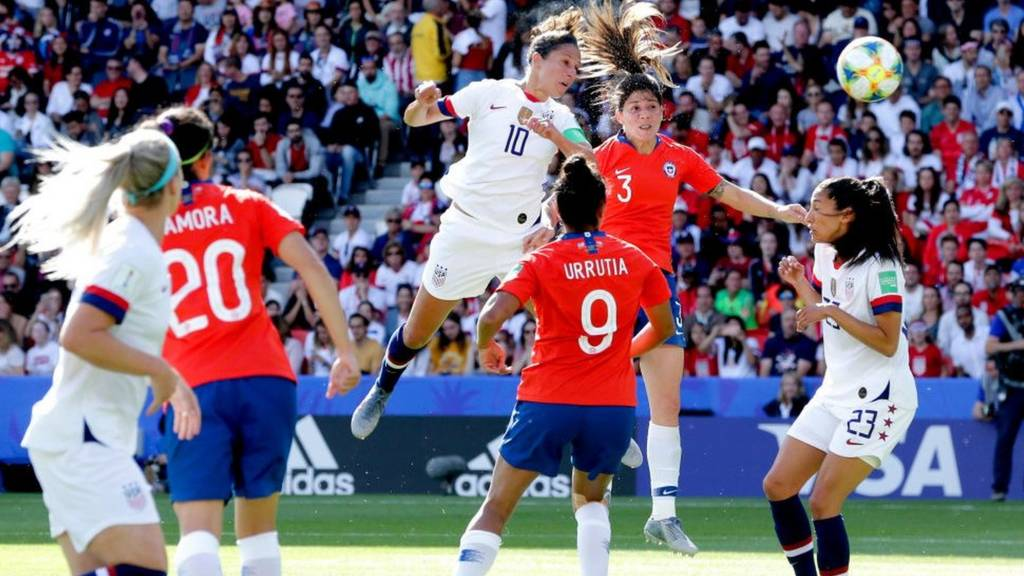Watch USA v Chile live in the Fifa Women's World Cup - Live