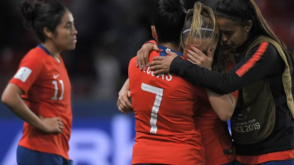 Chile are devastated