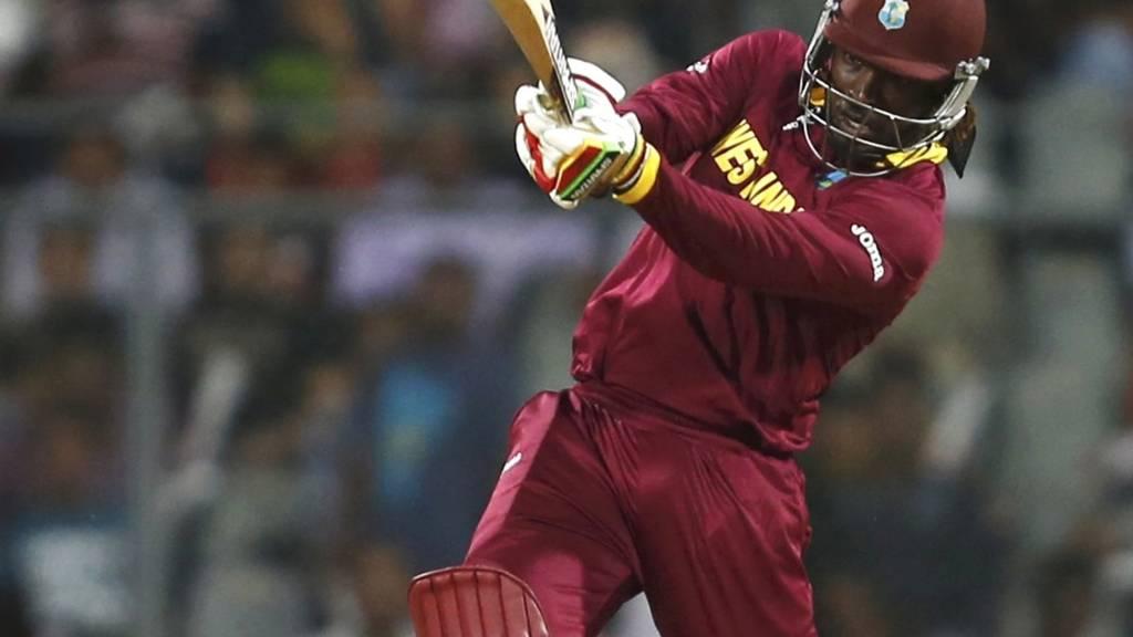 HERO: West Indies batsman Chris Gayle