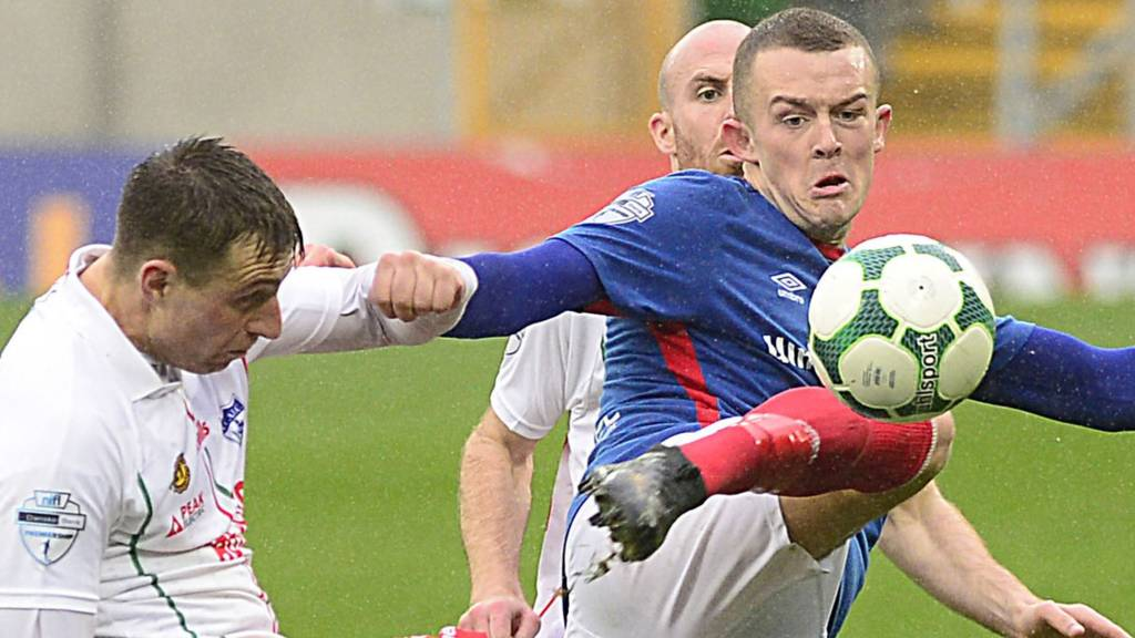 Newry City v Linfield