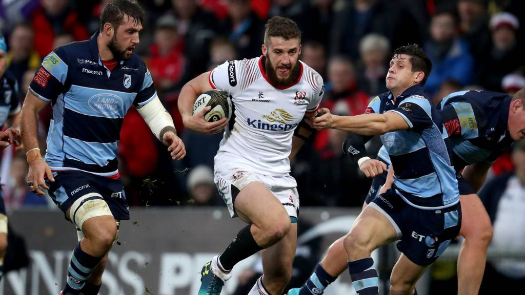 Action from Ulster against Cardiff