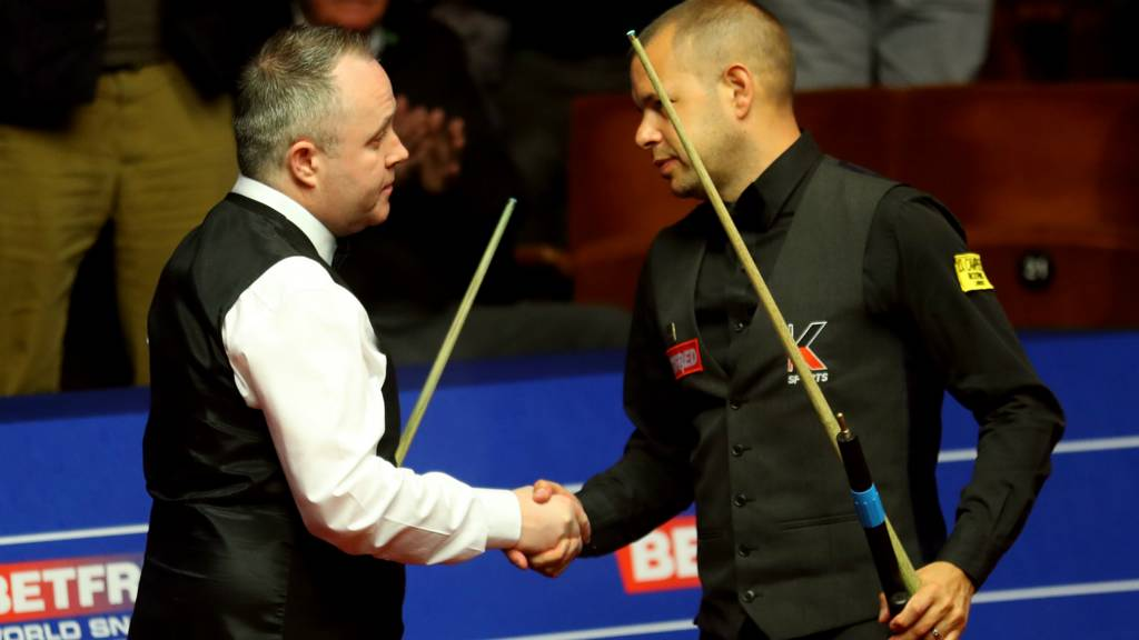 John Higgins and Barry Hawkins