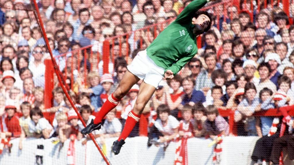 Nottingham Forest's Peter Shilton HERO