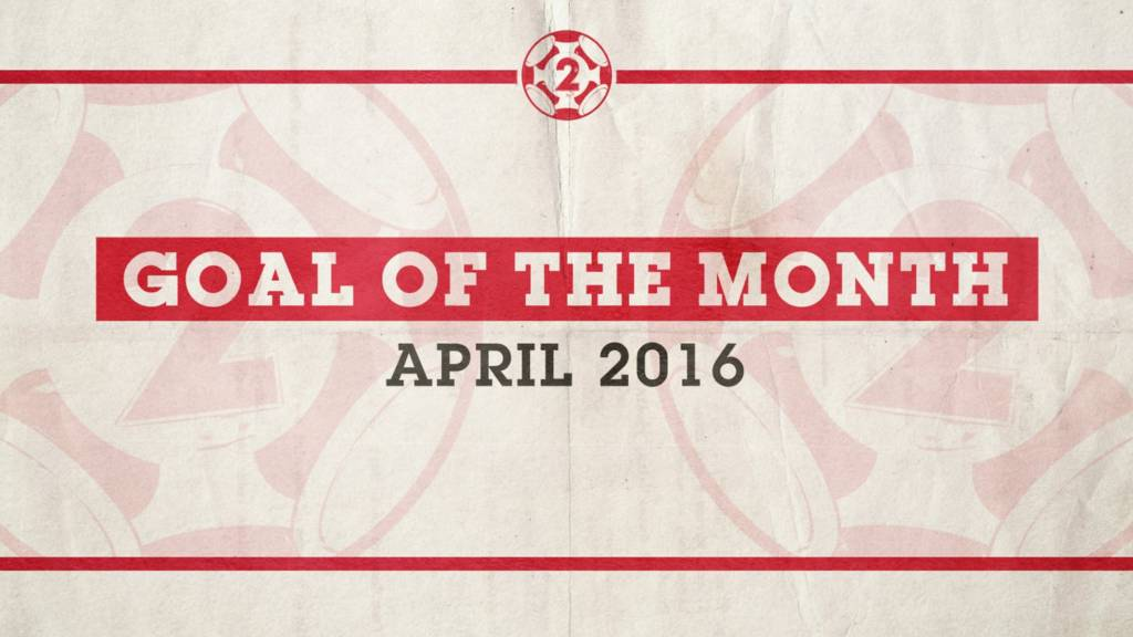 Goal of the Month for April