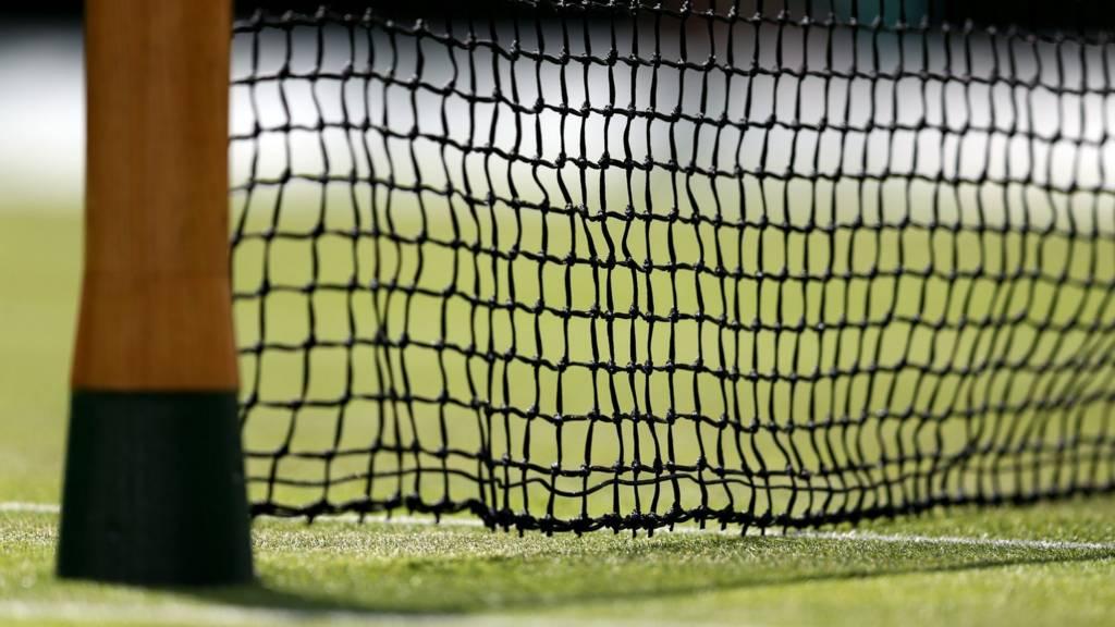 Wimbledon court net