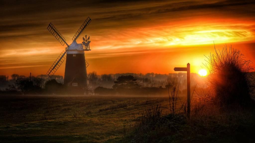 Burnham Overy windmill