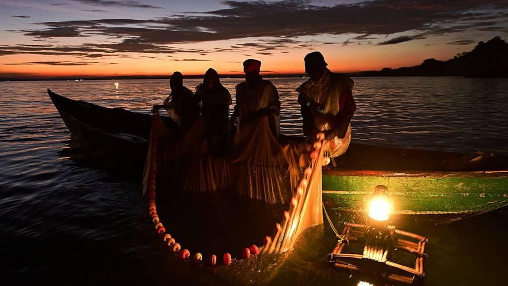 Kenyan fisherman