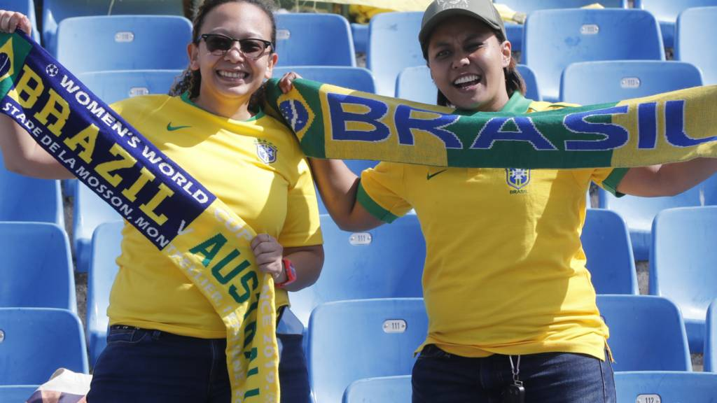 Australia beats Brazil with aid from an own goal