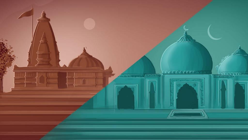 राम मंदिर आणि बाबरी मशीद