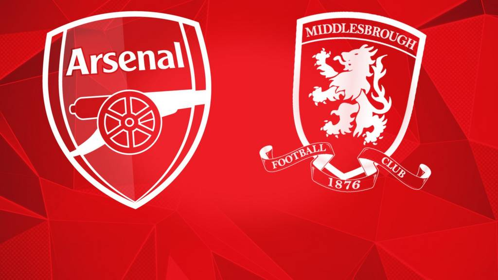 Middlesbrough - Arsenal