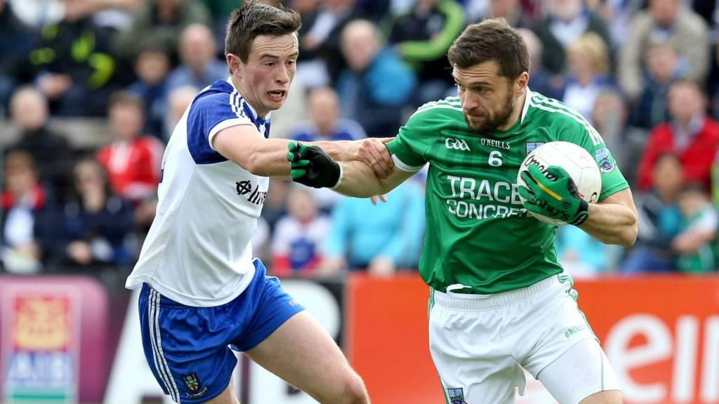 Monaghan's Shane Carey and Fermanagh's Ryan McCluskey will both be in action at Clones