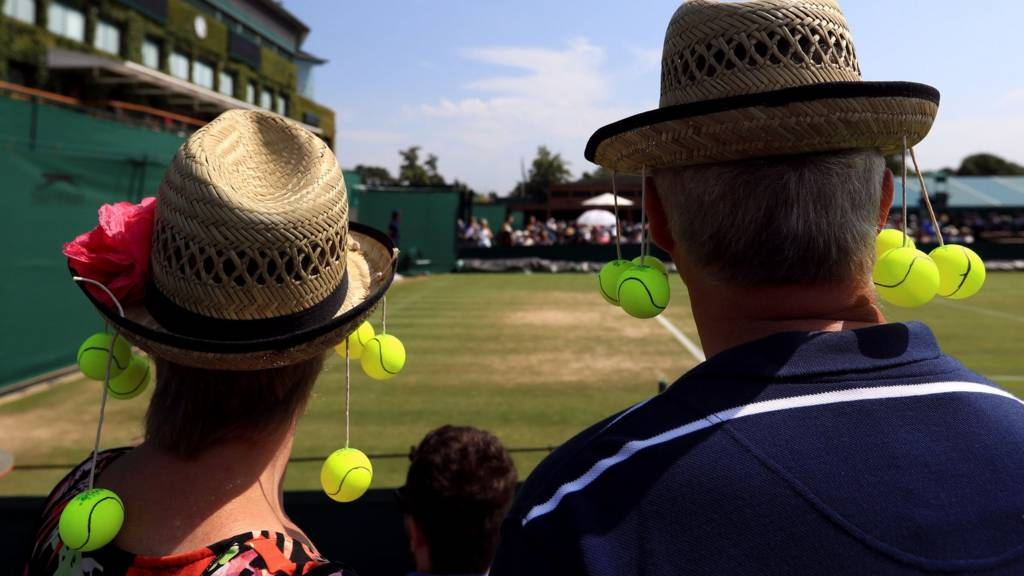 Fans at Wimbledon