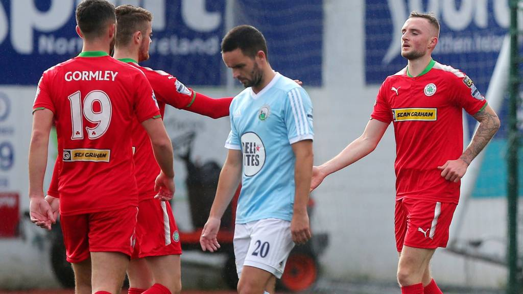 Cliftonville are at home to Warrenpoint Town