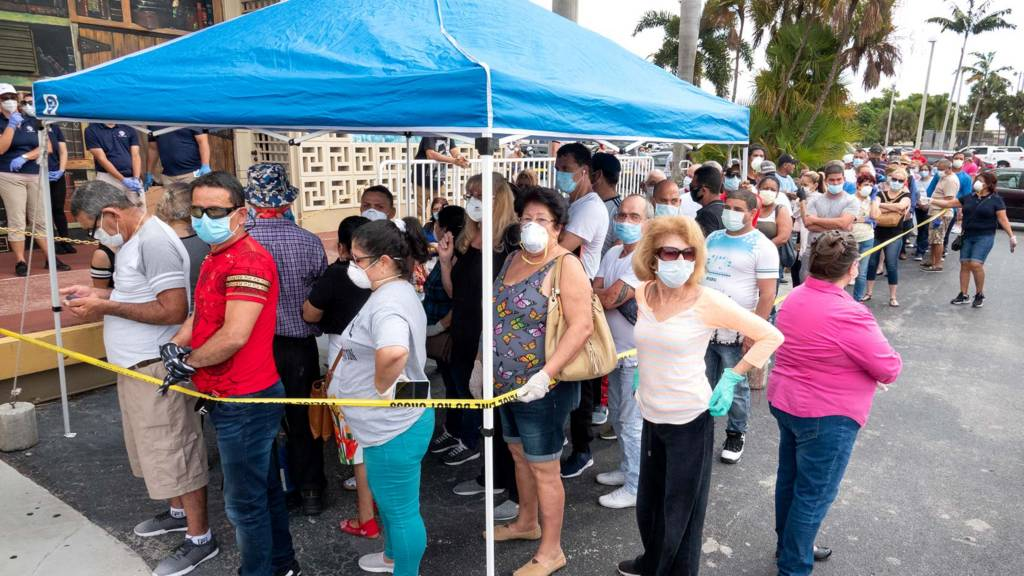 Coronavirus updates: US jobless figure surges amid coronavirus ...