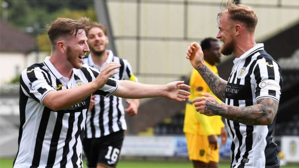 St Mirren v Livingston