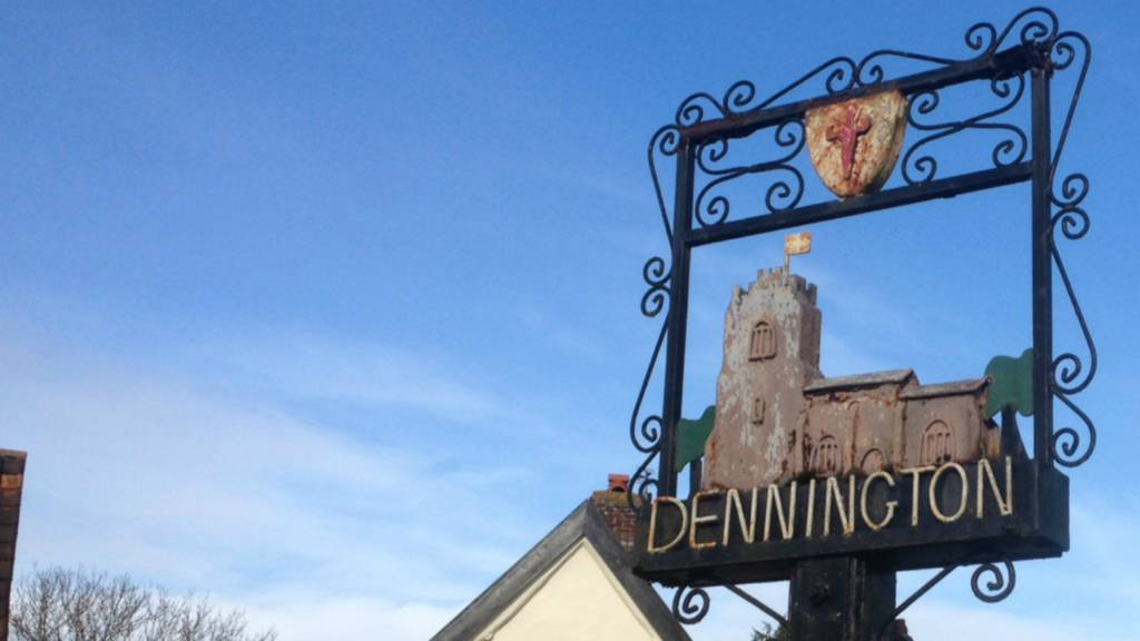Dennington village sign