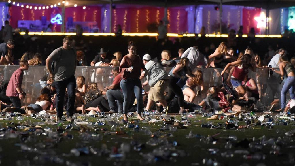 Concertgoers flee shooting