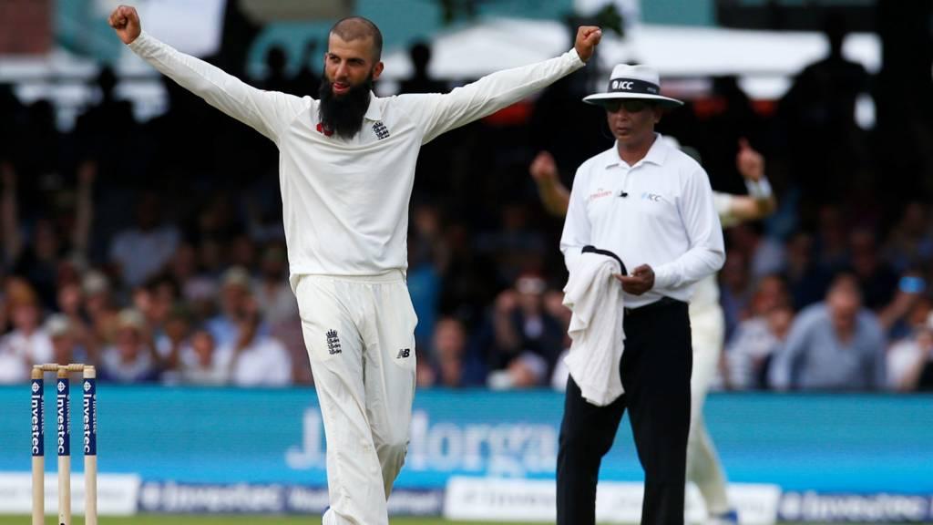 England's Moeen Ali