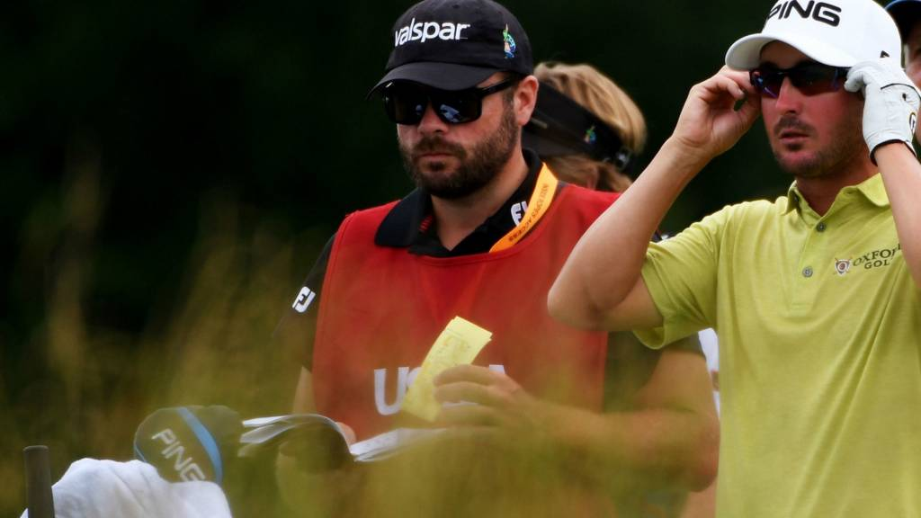 Andrew Landry leads the US Open