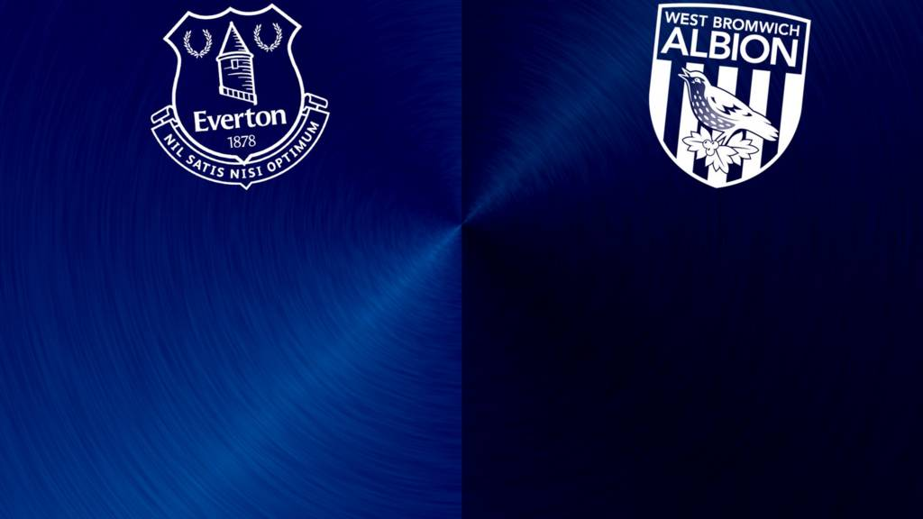 Everton v West Brom badges