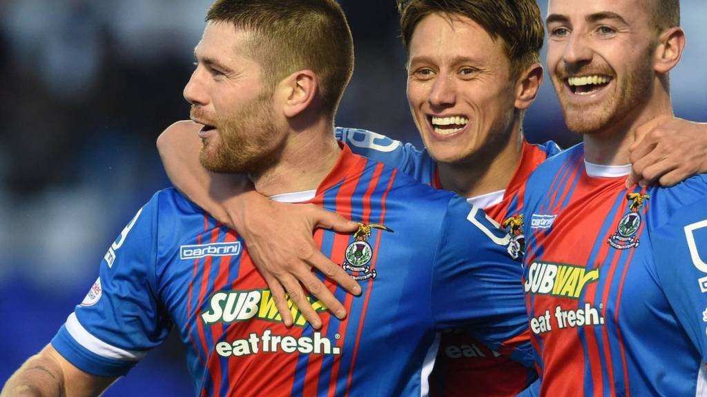 Iain Vigurs is the man of the moment for Inverness CT