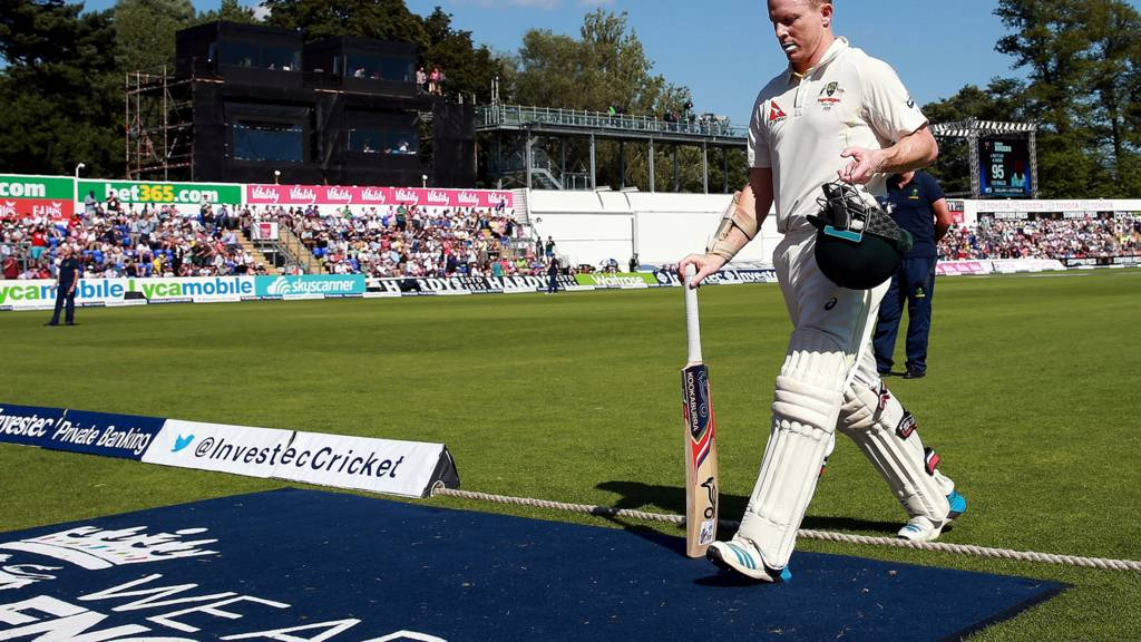 Chris Rogers leaves the field