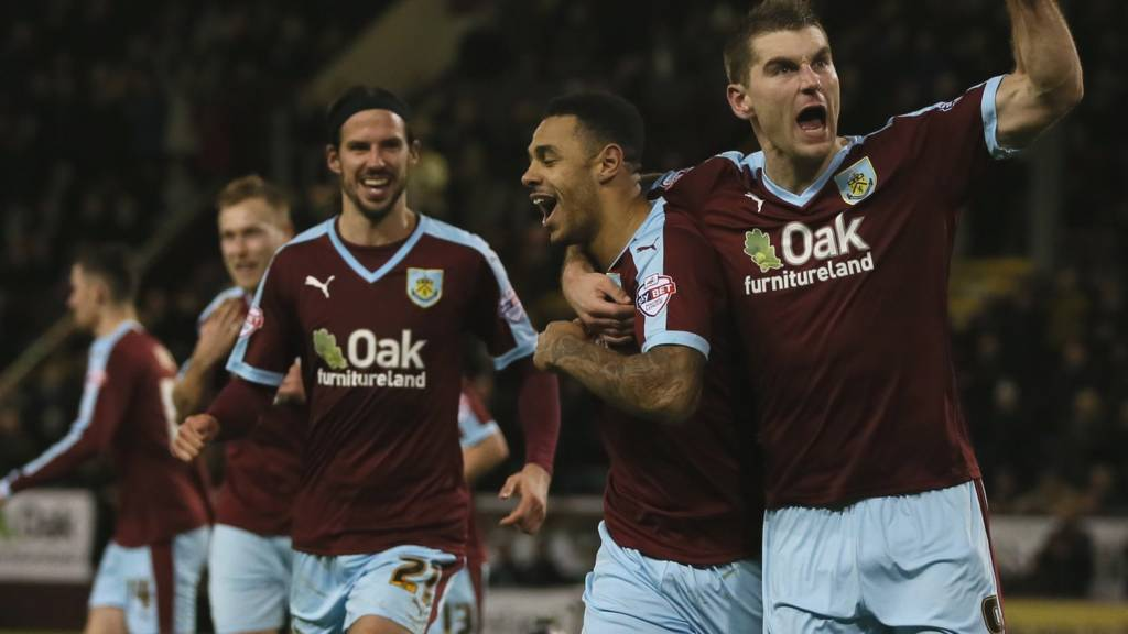 Burnley goal