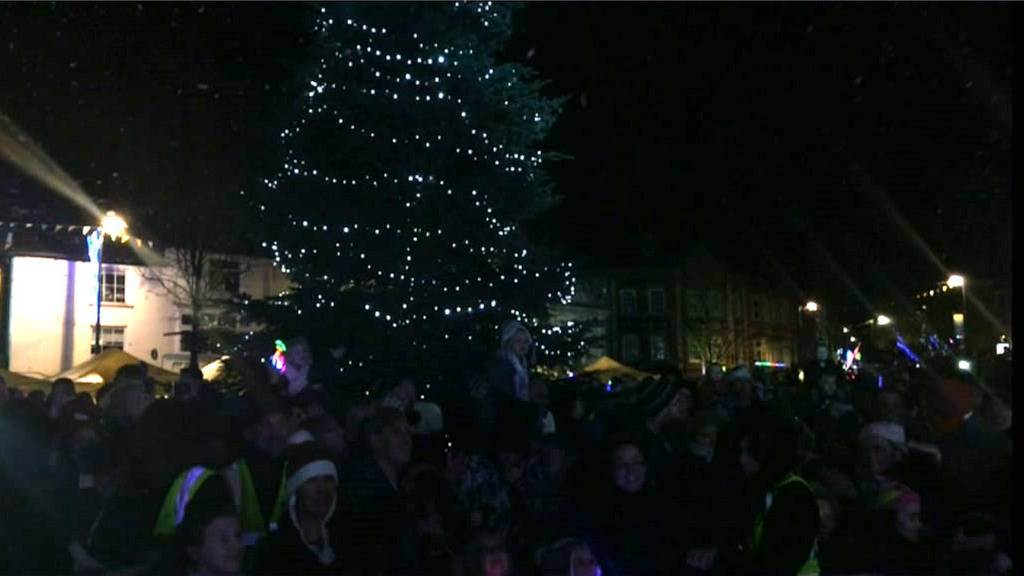 Kettering Christmas lights switch-on