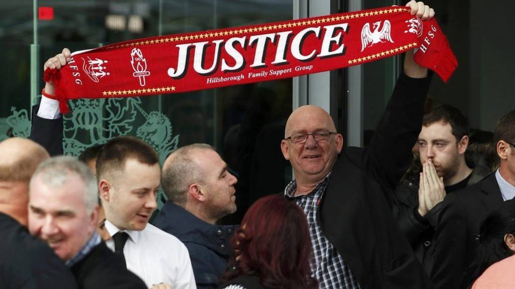 Campaigners after Hillsborough verdicts
