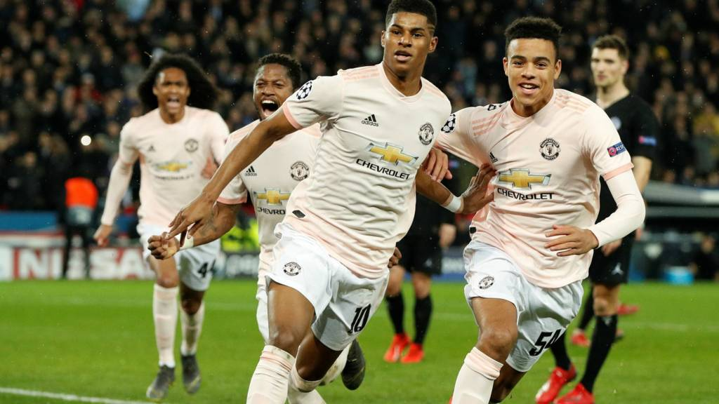 Image result for manchester united v psg