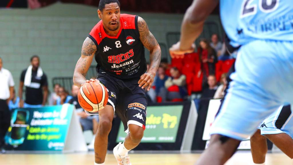 Drew Sullivan of the Leicester Riders