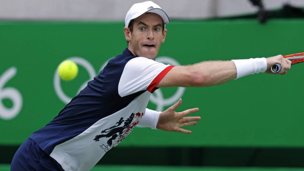 Andy Murray at Olympics