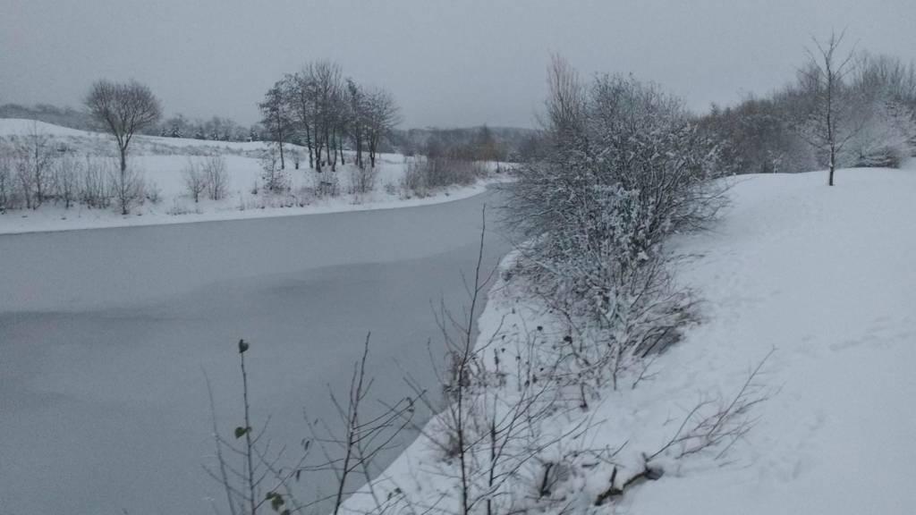 Snow in Caddington
