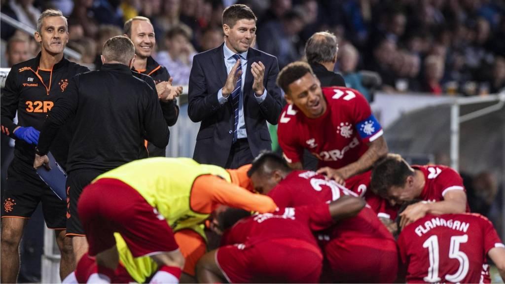 Midtjylland v Rangers