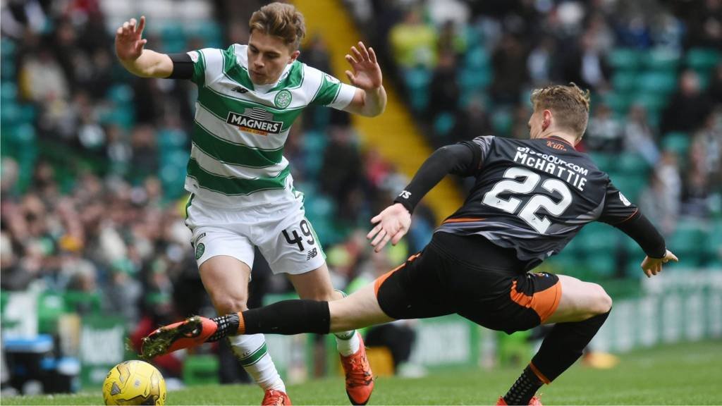 James Forrest and Kevin McHattie