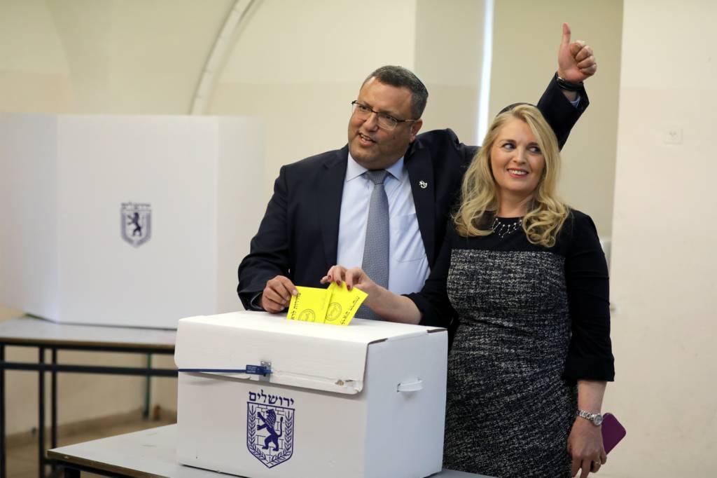 مرشح يهودي يفوز برئاسة القدس
