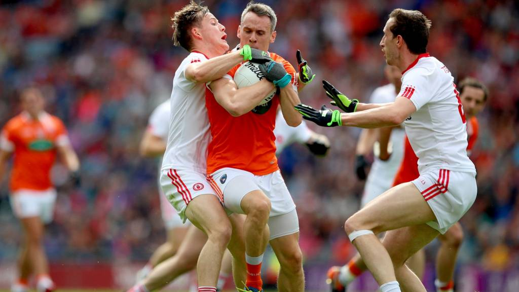 Tyrone are playing Armagh