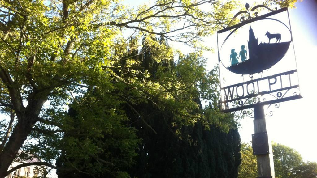 Woolpit Village sign