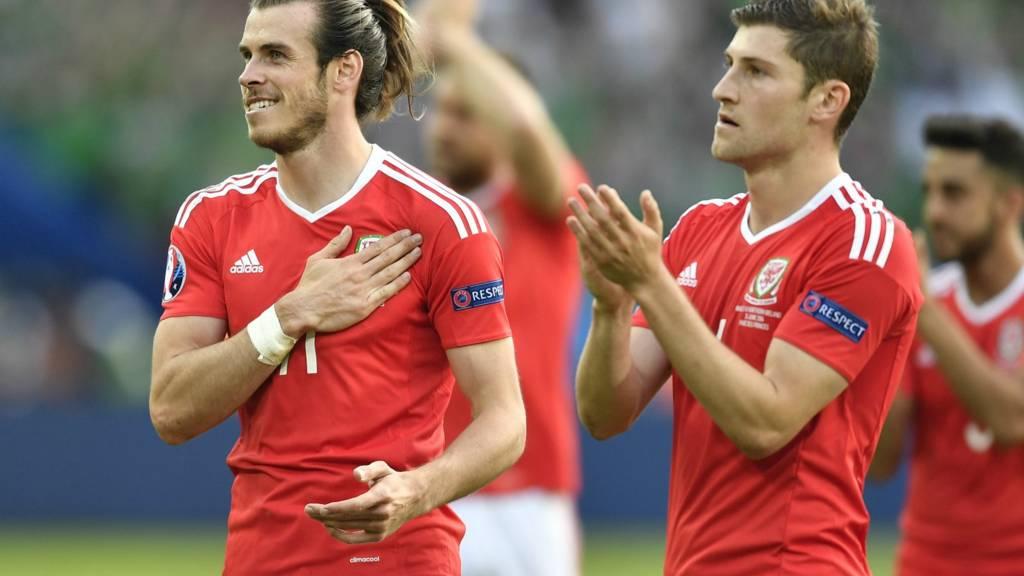 Gareth Bale and Ben Davies