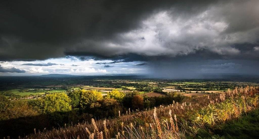 Malvern storm