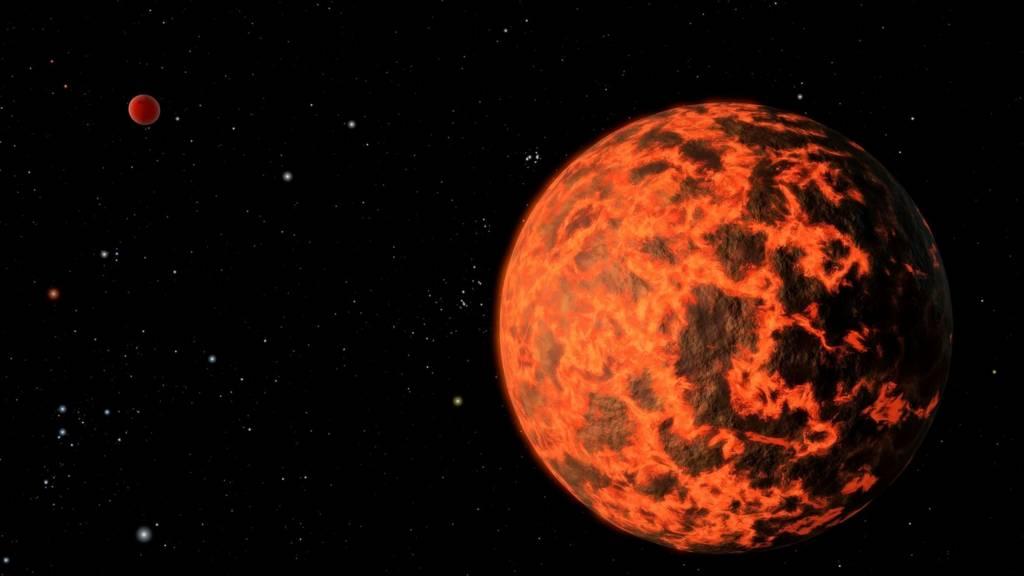 """Снимок, сделанный телескопом """"Спитцер"""""""