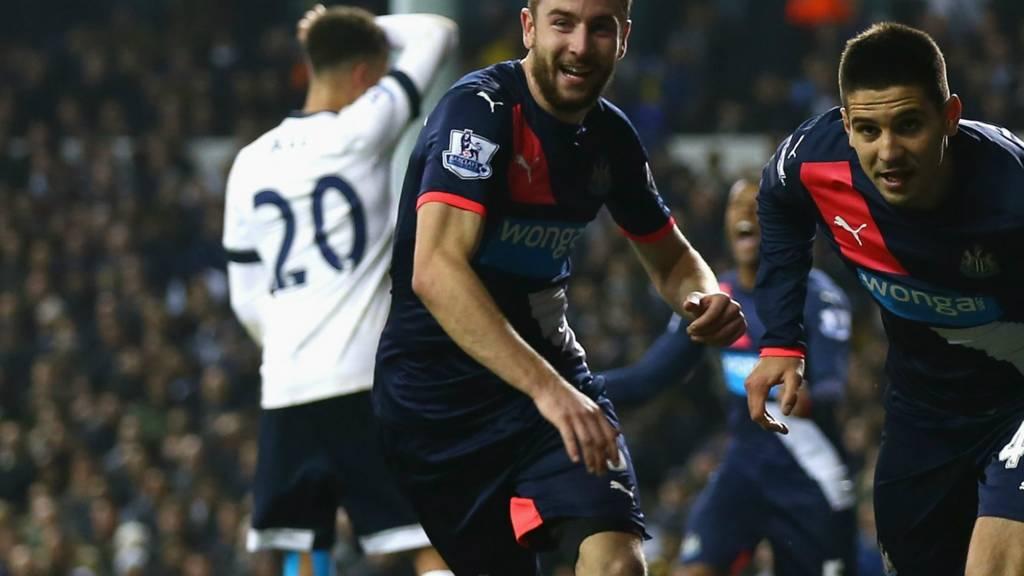 Mitrovic celebrates scoring