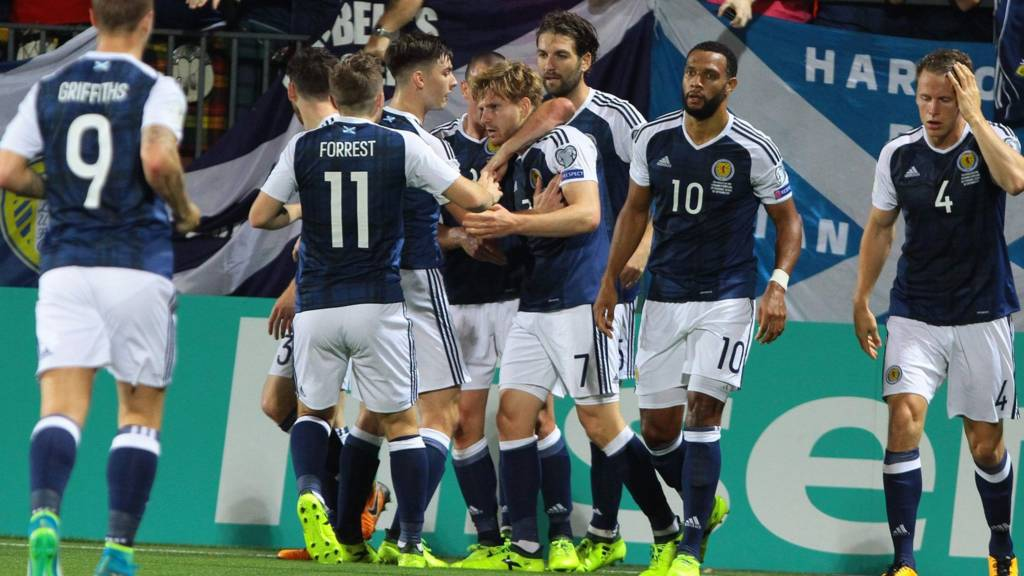 Scotland are in front in Vilnius