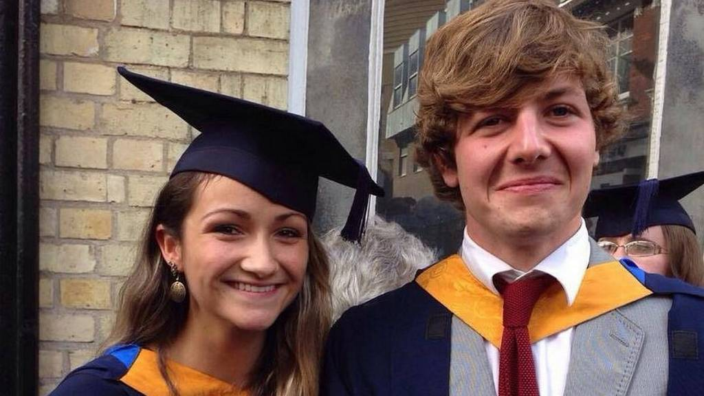 Bluebell Baughan and Aiden Webb