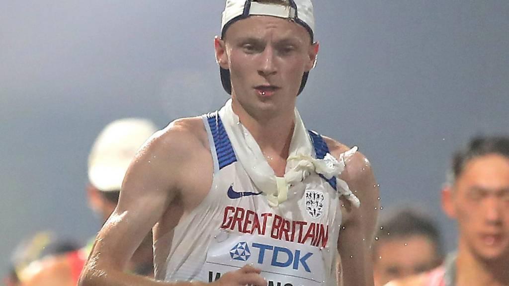 Callum Wilkinson among athletes in men's 20km walk in World Athletics Championships in Doha