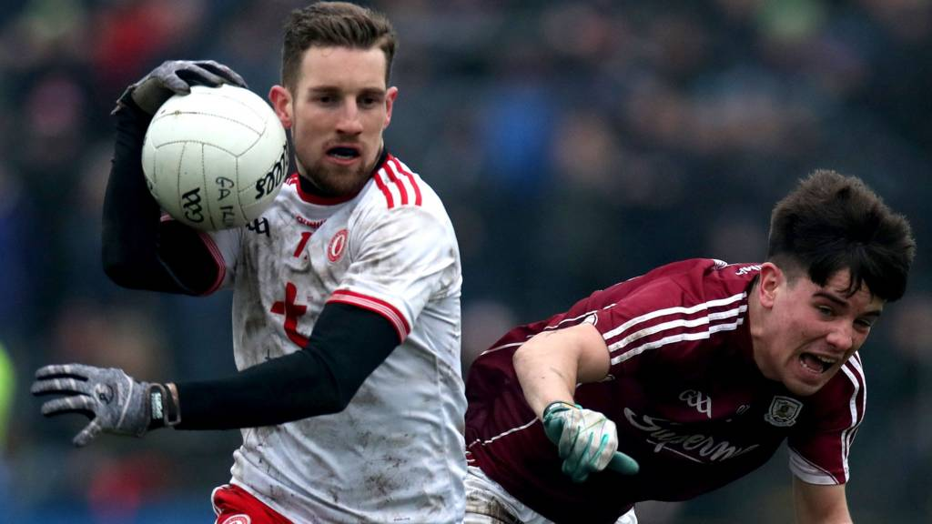 Niall Sludden in action for Tyrone