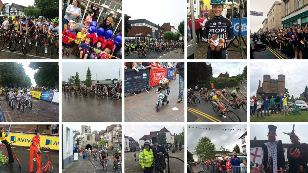 pictures from Women's Tour