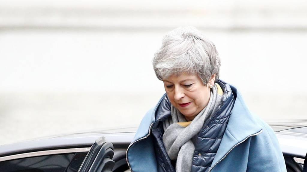 Theresa May returning to No 10